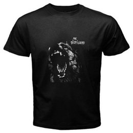 wholesale rock band t shirts UK - THE DISTILLERS Punk Rock Band Dog Brody Dalle Black T-Shirt Size S to 3XL Tee Shirts Casual Short Sleeve