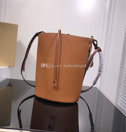 open gate Australia - high quality new style fashion genuine leather puzzle tote bag women shoulder bag Gate Bucket Bag Light Caramel