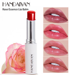 long lasting nude lipstick Australia - All day nourishing lips lipstick natural rose essence moisturizing lipstick waterproof long-lasting lipstick to create nude lips L3401