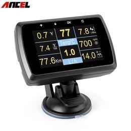 $enCountryForm.capitalKeyWord Australia - OBD Gauge ANCEL A501 Show Car Speed Fuel Consumption Voltage Display Meter Water Temperature OBD2 Auto Diagnostic Tool PK A202