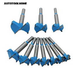 drill bits for wood Australia - bore drill AUTOTOOLHOME Forstner Tips Hinge Boring Drill Bit for Carpentry Wood Hole Cutter Auger Drilling 26 28 38 45 48 53
