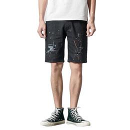 $enCountryForm.capitalKeyWord Australia - Mens Shorts Summer 2019 Pattern Printed Streetwear Casual Fashion Fitness Shorts Men Fitness Clothing Moda Hombre 2019