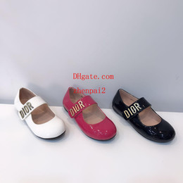 Discount new style girl flat shoes - Summer new Flat simple style easy to wear high quality girls and children's non-slip walking shoes