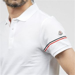 England polo shirt online shopping - moncl brand Medusa Men T Shirt lapel POLO shirt designer brand embroidery printing cotton high quality Fashion Harajuku Print Casual Shirts