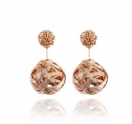 irregular earrings 2019 - new hot Fashionable metallic twine tangles irregular earring individual character exaggerates vogue classic delicate and
