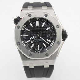 Watch silicone strap online shopping - watch men mm Automatic machinery watch sweeping movement False watch silicone Strap clock watches