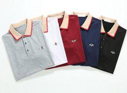 $enCountryForm.capitalKeyWord Australia - Top new 5 color 100% cotton Men's short sleeves polo shirt T-shirts Polos Shirt For Men Polos Men Cotton Short Sleeve shirt Sweater
