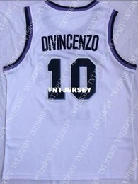 Cheap wholesale Donte DiVincenzo Jersey 10 Villanova Wildcats Sewn College  Basketball Jersey Customize any name number MEN WOMEN YOUTH e4fc23763