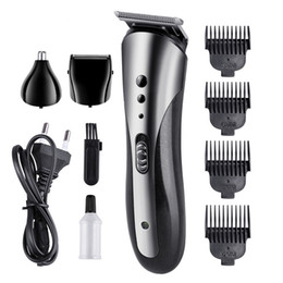 professional hair razors Australia - KEMEI KM-1407 Multifunctional Hair Trimmer Rechargeable Electric Nose Hair Clipper Professional Electric Razor Beard Shaver Epacket