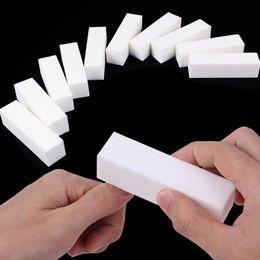 Discount sponge buffer sanding block - 1PC Sponge Nail File Buffer Block Brush Durable Buffing Grit Sand Fing Nail Art Accessories Sanding File UV Gel Polish T