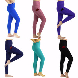ladies wearing yoga pants Australia - Women Girls Long Pants Running Leggings Ladies Casual Yoga Outfits Adult Sportswear Exercise & Fitness Wear Solid Color