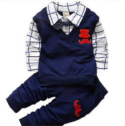 Cute Products Australia - 2019 new Baby Boy Clothes Set Children Clothing Sets Products Kids Clothes Baby Boys T-shirts + Pants 2PCS Tracksuit