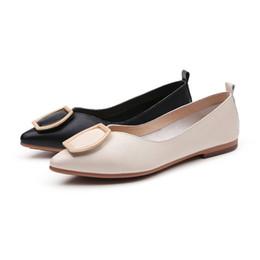 $enCountryForm.capitalKeyWord NZ - 2019 Classic Style Pointed Toe Pumps Type Stars Love for Fashion Women Girls Ladies Dress Low Heel Shoes Micro Fiber Comfortable to Wear
