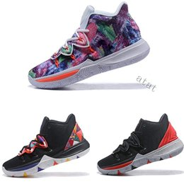 0db4506ea1ba 2019 limited edition 5 ladies basketball shoes 5s black magic for Kyrie  Chaussures de basket ball ladies sneakers shoes36-39