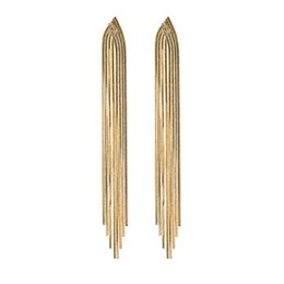 $enCountryForm.capitalKeyWord UK - A long style of Korean personality fashionable net with red ears and silver needle temperament long luxury earrings with drills and Earrings