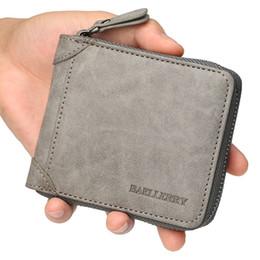 a78a99640e9b Новый повседневный стиль молния мужчины кошельки держатель карты небольшой  бумажник мужской синтетическая кожа человек кошелек портмоне мужская  Carteira