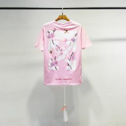 $enCountryForm.capitalKeyWord Australia - New luxury men's tshirt summer fashion designer ladies t shirt classic OF W letter white printing Tshirts high quality O-neck cotton casual