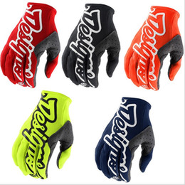 race gloves NZ - TLD DESIGNS Motorcycle Racing Cross Country Gloves Bicycle Gloves Outdoor Sports Riding Gloves