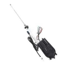 12v Car Antenna Australia - Universal 12V Car Universal 12V Car Automatic Antenna Aerial Kit Auto AM&FM Radio Electric Powet Auto AM&FM Radio Electric Power Mast Aerial