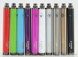 Ce4 Ce5 Pen Australia - VISION SPINNER 2 battery ego twist Variable Voltage vision spinner II 1650mAh electronic cigarettes for CE4 CE5 atomizer protank H2 vape pen