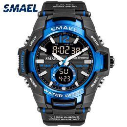 $enCountryForm.capitalKeyWord Australia - 2019 Men Watches Smael Sport Watch Waterproof 50m Wristwatch Relogio Masculino Militar 1805 Men's Clock Digital Military Army