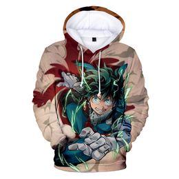 Anime white uniforms online shopping - Japan Anime My Hero Academia D Print Oversized Men Hoodies Sweatshirts Boku No Hero Academia Cosplay Costumes College Uniform