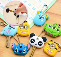 Plastic Fairy Figures Australia - Cute Cartoon Keychain Key Ring Gift for Women Girls Bag Pendant PVC Figure Charms Car Key Rings Jewelry Porte Clef
