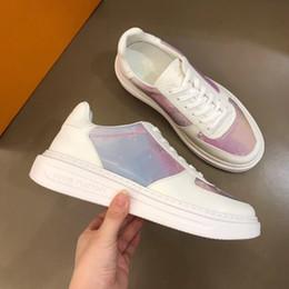 Ingrosso Nuovi Sport Uomo Scarpe Sneakers Estate Traspirante Lace Up Rivoli Beverly Hills Scarpa Calzature Piattaforma Chaussures pour hommes M16 Uomo