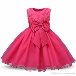 $enCountryForm.capitalKeyWord Australia - Baby Girl Dress 2018 Summer Todlder Clothes Girl Party Costume For Kids 1 2 Year Baby Girl Birthday Outfits Kids Formal Evening Clothing