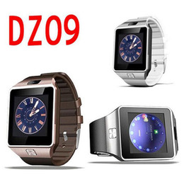 Bluetooth Smart Watch Sim Australia - Smartwatch DZ09 Bluetooth Smart Watch With SIM Card Slot For Apple Samsung IOS Android Cell phone 1.56 inch smart watches pk gt08