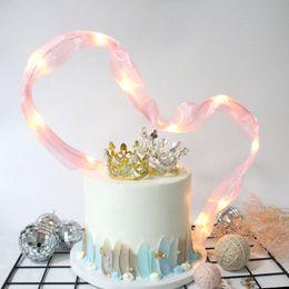 $enCountryForm.capitalKeyWord Australia - Ins Silk Ribbon Cake Wedding Decorations Pink Black Birthday Dessert Table Romantic Party Decoration Lamp Beads Ribbons 3 6cdD1