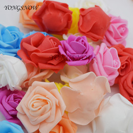 $enCountryForm.capitalKeyWord Australia - Decorations Artificial Dried Flowers 20pcs lot 4cm Artificial Foam Rose Head Wedding Decoration DIY Wreaths Craft Gift Festive Party Scra...