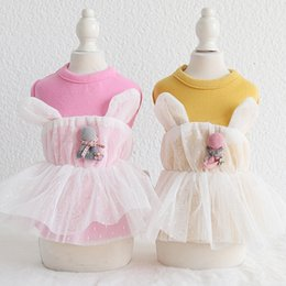 pet tutus Australia - Pet Dog Clothes Cat Princess Dress Apparel Puppy Wear Pet Costume Dog Tutu Dress Skirt 19SS51