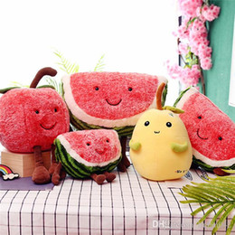 $enCountryForm.capitalKeyWord Australia - 20170713 New Sale Plush All Kinds Of Fruit Stuffed Pillow Cushion Cute For Girls Gift Toy Doll Free Shipping.