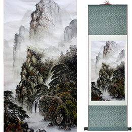 $enCountryForm.capitalKeyWord NZ - Landscape Painting Home Office Decoration Chinese Scroll Painting Mountain And River Painting 1906101552