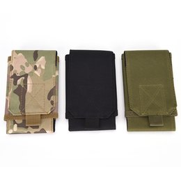 Wholesale Universal Army Tactical Bag Cell Phone Belt Loop Hook Cover Case Pouch Holster for iPhone S S for Galaxy S5 S4 S3