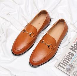 $enCountryForm.capitalKeyWord NZ - 2019 New listing men dress shoes luxury dress shoes Horsebit men casual shoes Large size: US 6.5-10 364