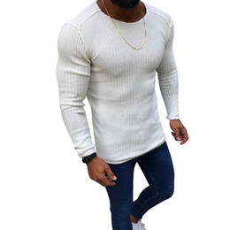 korean clothes sweater knits Australia - Laamei 2019 Autumn Cotton Sweater Pull Men Pullover Casual Jumper Male Brand Knitted Korean Style Clothes Plus Size Men Sweater