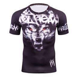 $enCountryForm.capitalKeyWord NZ - Men's Workout Clothes Short Sleeve Compression Shirt 3D Full Printing Bodybuilding Tshirts Mens Gear Tee&Top Jerseys