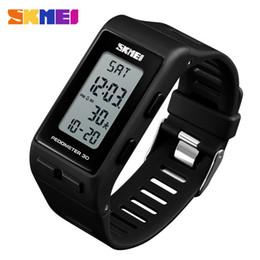$enCountryForm.capitalKeyWord Australia - Skmei Luxury Digital Watch Men Women Pedometer Calories Sports Watches Waterproof Led Electronic Wrist Watch Clock Male MX190716