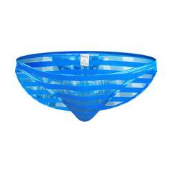 $enCountryForm.capitalKeyWord UK - Men's Underwear Briefs Mesh Transparent Stripes Panties Pouch Sexy Mens See Throught Underwear Gay Underpanties Penis