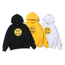 Wholesale branding clothes resale online - Bieber designer sweater men s women s sweater black white long sleeve pullover brand street clothes fashion sweater