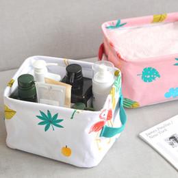 White Toy Organizer Australia - Creative Cartoon Portable Storage Organizer Desktop Cosmetics Case Home Kitchen Bathroom Box Toy Sundries Makeup