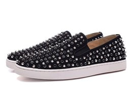 $enCountryForm.capitalKeyWord Australia - Hot Red Sneakers Casual Shoes Mens Womens Low Silver Designer Full Spikes Roller Boat Flats Skateboard Loafers Design Man Woman Shoe 6dsfg