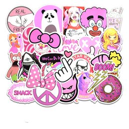 $enCountryForm.capitalKeyWord NZ - 50 pcs set Game Pink Girl Cute Sticker Personality Luggage DIY Stickers Cartoon Wall Car Skateboard Laptop Water Bottle Bag Kids Gift Toys