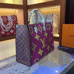 $enCountryForm.capitalKeyWord Australia - Fashion new designer shoulder bag color letters top quality beach bag leather brand handbag Messenger bag wallet