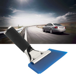 $enCountryForm.capitalKeyWord NZ - 1PC Blue Razor Blade Scraper Water Squeegee Tint Tool for Car Auto Film For Window Cleaning Newest Dropping Shipping Hot
