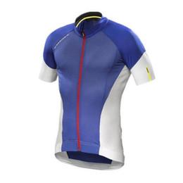 Red Black Grey Shirts UK - 2019 Mavic Cycling jersey bike clothes Tour de France Bicycle Clothing quick dry Men Wear short sleeve shirt summer mtb sports jersey