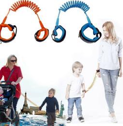 Anti Lost Band Kid Child Safety Harness Anti Lost Strap Wrist Leash Walking 1.5m outdoor parent baby leash Rope Wristband Belt LJJK2198-1 on Sale