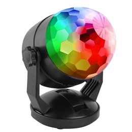 battery led strobe lights Australia - Portable Sound Activated Party Lights for Outdoor and Indoor Battery Powered USB Plug in Dj Lighting RBG Disco Ball Strobe Lamp Stage Pa